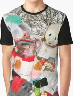 The Rodent Carol Singers Graphic T-Shirt
