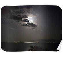 restful moonlight Poster