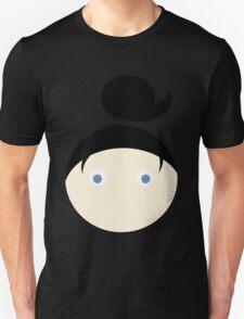 Black Hair Blue Eyed Girl T-Shirt