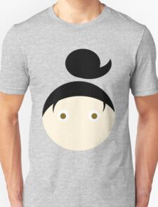 Black Hair Brown Eyed Girl Unisex T-Shirt