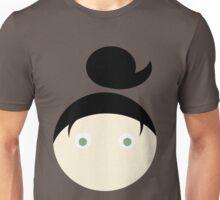 Black Hair Green Eyed Girl Unisex T-Shirt
