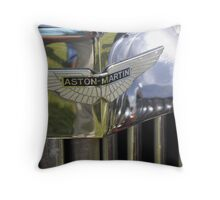 Aston Martin MK II S-C (1934) Throw Pillow