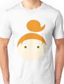 Red Hair Brown Eyed Girl Unisex T-Shirt
