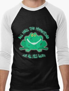 Hail The Hypnosis Frog For All His Glory Men's Baseball ¾ T-Shirt