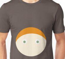 Red Hair Green Eyed Boy Unisex T-Shirt