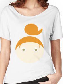 Red Hair Hazel Eyed Girl Women's Relaxed Fit T-Shirt