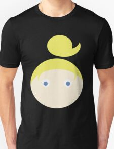 Blonde Hair Blue Eyed Girl T-Shirt