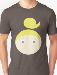 Blonde Hair Green Eyed Girl T-Shirt