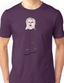 Knitted Lady #4 Unisex T-Shirt