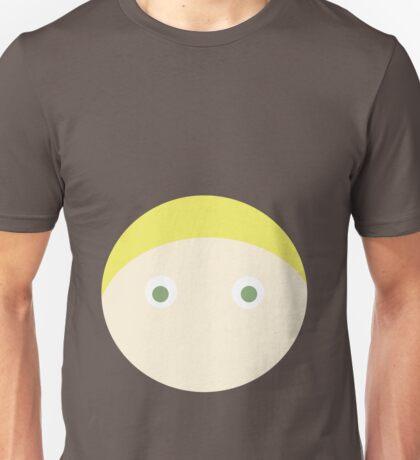 Blonde Hair Green Eyed Boy Unisex T-Shirt
