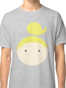 Blonde Hair Hazel Eyed Girl Classic T-Shirt