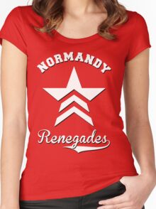 Renegades - Mass Effect Women's Fitted Scoop T-Shirt