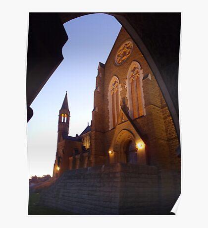 Bendigo Cathedral (Sacred Heart Cathedral) Poster