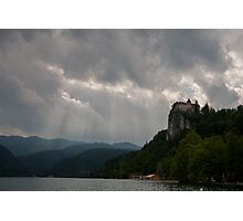 Bled Castle Backdrop Photographic Print