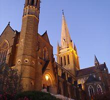 Sacred Heart Cathedral, Bendigo by kazzam