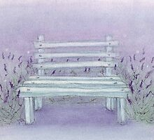 A seat in the lavender by HeidiHoHo