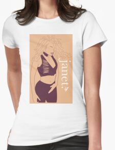 Janet Jackson, If Womens Fitted T-Shirt