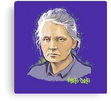 Marie Curie - Nobel Prize Winner Canvas Print