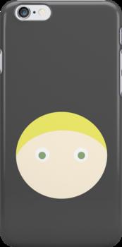 Blonde Hair Green Eyed Boy by Rjcham