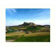 Austrian Countryside Outside Graz Art Print