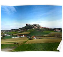 Austrian Countryside Outside Graz Poster