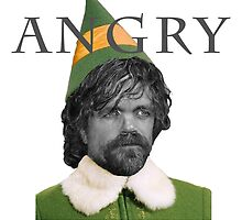 Angry Elf  by Kelly Ferguson