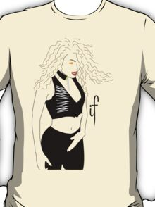 Janet Jackson, If white T-Shirt