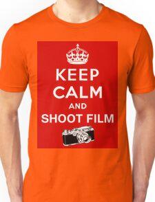 Keep Calm and Shoot Film Unisex T-Shirt