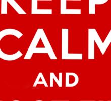 Keep Calm and Shoot Film Sticker
