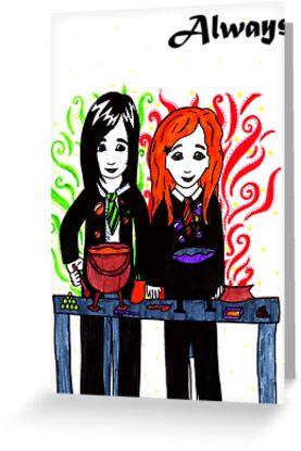 Severus Snape & Lily Evans ~ Always. by LittleMizMagic