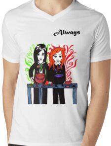 Severus Snape & Lily Evans ~ Always. Mens V-Neck T-Shirt