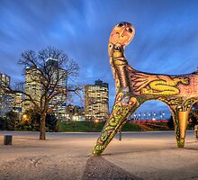 Angel of Melbourne by Chris Mitchell