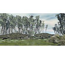 Uberabasuchus terrificus Photographic Print