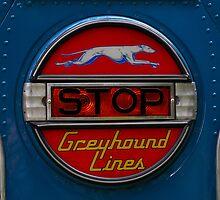 GMC PD 3751 Greyhound Bus stop sign (1947) by Frits Klijn (klijnfoto.nl)