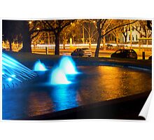The Blue Fountain Poster