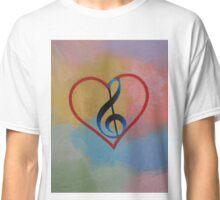 Music Note Classic T-Shirt