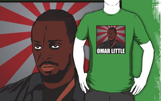 Omar Little from The Wire by D4RK0