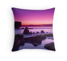 A Purple Haze Throw Pillow