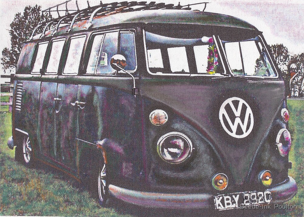 Battle Bus by Sharon Poulton