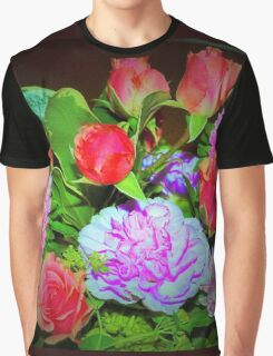 Rose combo delight Graphic T-Shirt