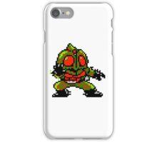Kamen Rider Amazon - NES Sprite iPhone Case/Skin