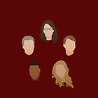 30 Rock Silhouettes  by KarterRhys