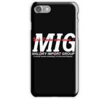 You know our Name MIG iPhone Case/Skin