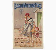 Vintage poster - Belgium Kids Tee