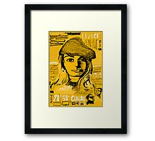 Nouvelle Vague Framed Print