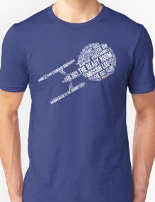 Trek.fm Word Cloud (Dark) Unisex T-Shirt