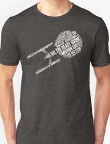 Trek.fm Word Cloud (Dark) T-Shirt
