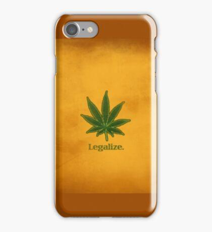 Legalize iPhone Case/Skin
