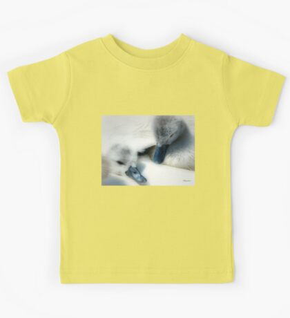 Fluffy Cygnets - Baby Wear Kids Tee