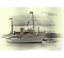 The Royal Yacht Dannebrog Poster
